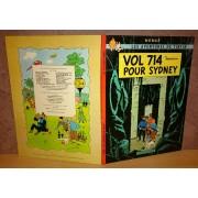 Tintin : Vol 714 Pour Sydney Eo 1968 2ème Tirage
