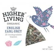 Ceai negru organic English Earl Grey Higher Living