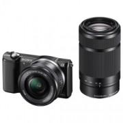 Sony Alpha A5000 KIT (ILCE-5000L/B) + SEL16-50mm + SEL55-210