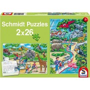 SCHMIDT Children's Day At The Zoo Puzzle (26-Piece)
