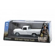 """Greenlight Collectibles 86071 - Modellino Auto 1979 Ford F-Series F-100 Custom Pickup Truck """"Dallas"""" Tv Series (1978-91) Scala 1/43"""
