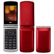 Celular LG G360 Dual Sim Câmera 1.3 MP Vermelho