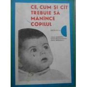 Ce, Cum Si Cit Trebuie Sa Manince Copilul - Emilia Andreescu Maria Ursache Goidea Emilia Sandulescu