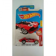 Hot Wheels 2016 Then and Now Corvette Grand Sport Roadster [Red] Die-Cast Vehicle #102/250