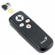 Prezentációs távirányító, lézermutatóval, vezeték nélküli, GENIUS Media Pointer 100