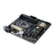 Asus H170M- Plus - 6th Generation DDR4 MotherBoard (LGA1151, DDR4 2133Mhz, DVI + VGA + HDMI + DP Ports, MicroATX Board)