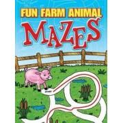 Fun Farm Animal Mazes by Fran Newman-D'Amico