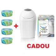Pachet 4 Rezerve Sangenic + Cos Hygiene Plus Cadou