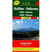 Wegenkaart - landkaart 618 Sicilie - Sizilien Palermo | Freytag & Berndt