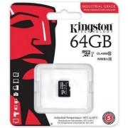 Card de memorie Kingston SDCIT/64GBSP, microSDHC, 64GB, Clasa 10, UHS-I