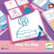 Djeco - Malen lernen step by step ''Josephine und Co''