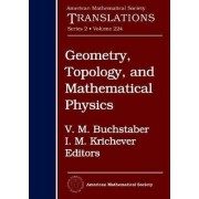 Geometry, Topology, and Mathematical Physics by V. M. Buchstaber
