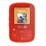 SanDisk Clip Sport Plus 16 GB Wearable, Bluetooth MP3 Player - Red
