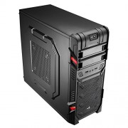 Aerocool GT Advance Case ATX Middle Tower per PC, Nero