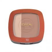 L´Oreal Paris Glam Bronze Duo Powder 9g Make-up für Frauen Farbton - 102