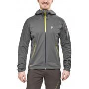 Peak Performance Shield Active Jacket Men Grey Sky L Regenjacken