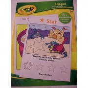 Crayola Educational Activity Book Shapes (Pre-K Fun Learning With Creative Activities)