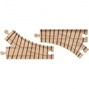 Wooden Train Track - Switch Pair