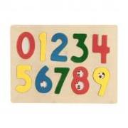 Fa puzzle, számok