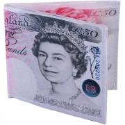 Creative Wallet - Portafogli fantasia 50 Pound Sterline
