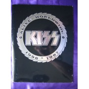 Kiss Tour Book World Wide Alive 1996-1997