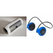 CUBA Bluetooth Speaker (_JBL Charge K3+ Speaker) And Bluetooth Headset (Mini 503 Headset) for MICROMAX CANVAS PULSE 4G