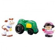 Little People Sonya Lee with Tractor and Cow Set