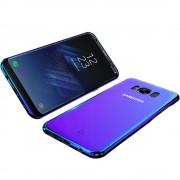 Husa protectie plastic FLOVEME pentru Samsung Galaxy S8, Blue