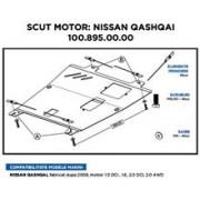 Scut Motor Nissan Qashqai 2008-. Motor 1.5Dci. 1.6. 2.0