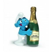 Schleich Bottle Smurf Figure