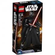 Сглобяема фигура Лего Стар Уорс - Кайло Рен - LEGO Star Wars, 75117