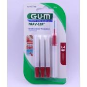 Butler Gum Trav-Ler Escovilhão Viagem Cilíndrico #1612
