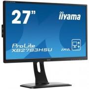 Monitor iiyama XB2783HSU-B1DP, 27'', LCD, AMVA+, 4ms, 300cd/m2, 3000:1, FHD, VGA, DVI, DP, HDMI, USB, repro, pivot, výšk.nastav.
