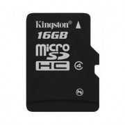 Secure Digital Card micro SDHC 16GB class 4 KINGSTON (SDC4/16GB)