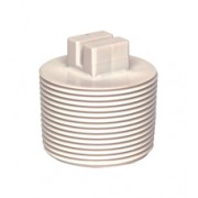 Certikin 1.5 inch Threaded Plug - White ABS Pool Pipe (CP15TP)