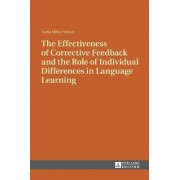 The Effectiveness of Corrective Feedback and the Role of Individual Differences in Language Learning by Nadia Mifka Profozic