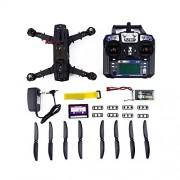 Carbon Fiber Mini 250 Quadcopter Frame Motor Flight Control Board Set carbon fiber black - by LC Prime®