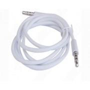Excelente 3,5 mm Valor Blanco AUX estéreo macho a macho Cable Adaptador Cable de Audio para Apple Ipad ipad4 Aire Mini iPad iPhone 6.6 +, 5 / 5s, 5C, Ipod Samsung S5, S4, S3, Todos Mp4 Genreations Mp3 Sony Creative Samsung, HTC, Motorla, Todos Pc Portátil