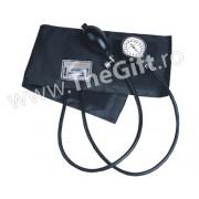 Tensiometru aneroid si stetoscop cu cap simplu