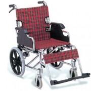 sedia a rotelle / carrozzina pieghevole in alluminio - peso 13kg - sed