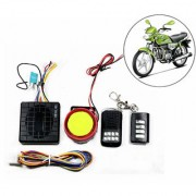 Capeshoppers Yqx Ultra Small Anti-Theft Security Device And Alarm For Hero Motocorp Hf Deluxe Eco
