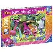 RAVENSBURGER - PUZZLE LUMEA TROLLS, 150 PIESE (RVSPC10033)