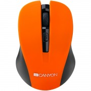 Mouse, CANYON CNE-CMSW1O, Wireless, Orange