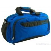 Sportovní taška 5265 modro-šedá