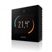 Termostat inteligent Momit Smart WiFi, control internet, senzor prezenta, geolocatie, touchscreen