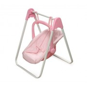 Badger Basket 01550 Doll Swing And Operador- Guinga rosada
