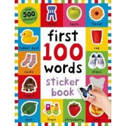 First 100 Words Sticker Book by Roger Priddy