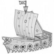 Villa Carton piratenboot