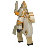 Holztiger 80.256 - personaggio - Cavaliere Torneo senza cavallo, bianco