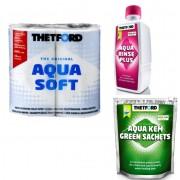 PACHET WEEKEND G: hartie igienica + saculeti de descompunere deseuri + odorizant